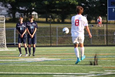 Howard Varsity Soccer vs Centennial HS - Sept 17, 2015