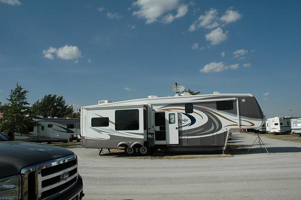 Journal Site 45: Blasi Campground, Heavy Duty Truck Rally, Wichita, Kansas  -  October 1, 2006