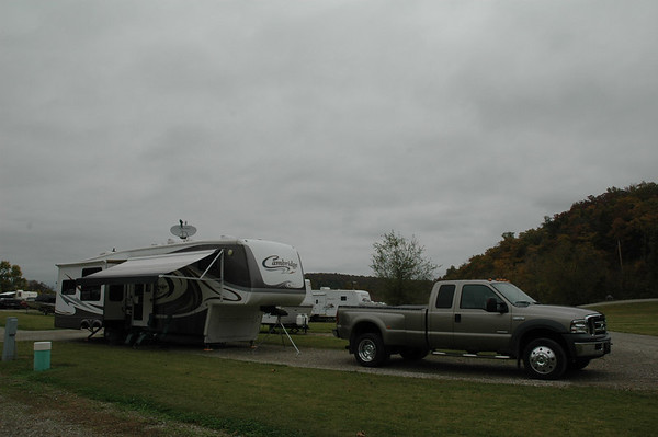 Journal Site 49: Denton Ferry RV Park & White/Buffalo Rivers, Cotter, Arkansas  -  October 25, 2006