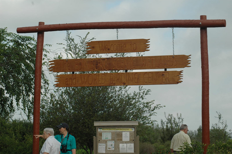 Entry to Edinburg Scenic Wetlands