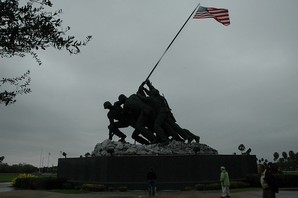Journal Site 57:  Iwo Jima Memorial - Harlingen