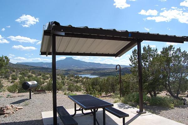 Journal Site 69: Abiquiu Lake COE Riana Campground - Abiquiu, NM - June 17, 2007