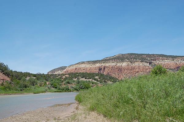 Journal Site 69:  Rio Chama Canoe Trip, Santa Fe National Forest - Abiquiu, NM - June 18, 2007