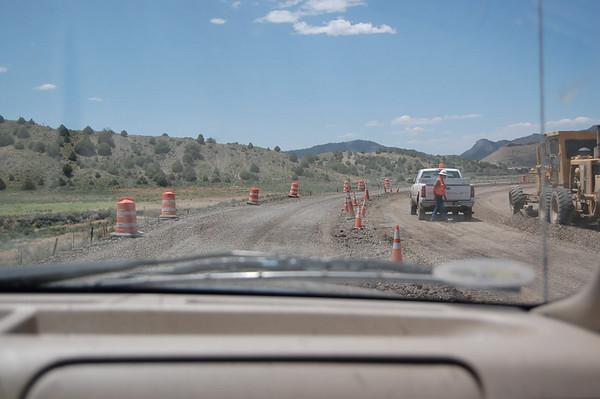 Journal Site 70: Cottonwood Campground, Navajo Lake State Park, Navajo Dam, NM - June 20, 2007