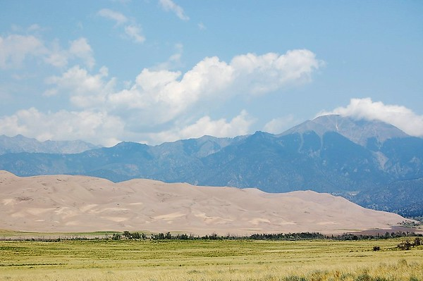 Journal Site 72: Great Sand Dunes National Park & Preserve, Mosca, Colorado - July 10, 2007