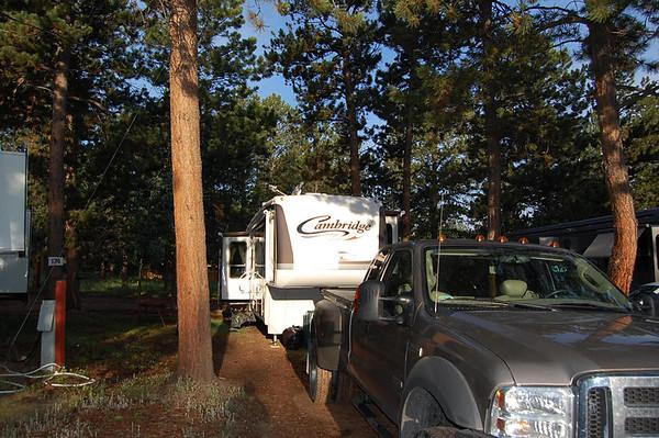 Journal Site 73:  Diamond Campground, Woodland Park, Colorado - July 11, 2007