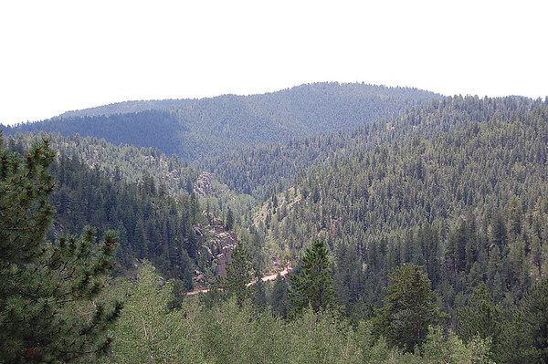 Journal Site 73:  Phantom Canyon Road, Victor, Colorado - July 31, 2007