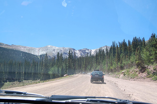 Journal Site 73:  Pike's Peak Drive, Woodland Park, Colorado - August 9, 2007