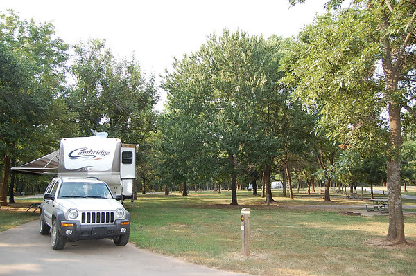 Journal Site 76: Stockton State Park, Dadeville, Missouri - August 16, 2007