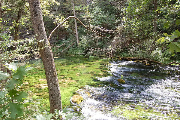 Journal Site 77:  Blue Spring & Big Spring, Ozark National Scenic Riverways, Missouri - August 24, 2007