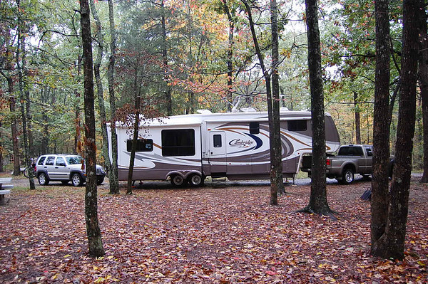 Journal Site 80:  Mammoth Cave National Park, Park City, KY - October 22, 2007