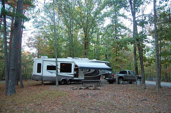 Journal Site 81:  David Crockett State Park, Lawrenceburg, TN - October 28, 2007