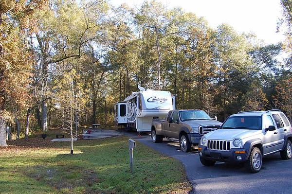 Journal Site 84:  Tickfaw State Park, Springfield, Louisiana - November 27, 2007