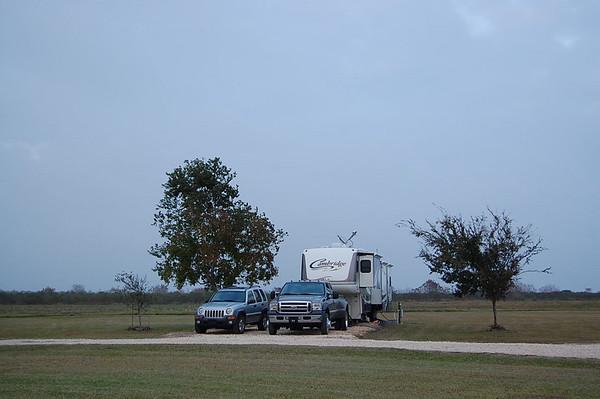 Journal Site 86:  Brazoria National Wildlife Refuge Volunteer Village, Freeport, Texas - November 30, 2007
