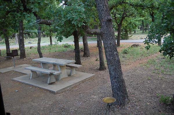 Journal Site 100:  Doris Campground, Wichita Mountains NWR, Indiahoma, Oklahoma - May 26, 2008