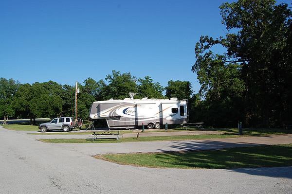Journal Site 101:  Twin Bridges State Park, Wyandotte, Oklahoma - June 1, 2008