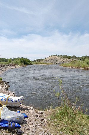Journal Site 106:  Rio Chama Canoe Trip, Los Ojos, NM - June 25, 2008