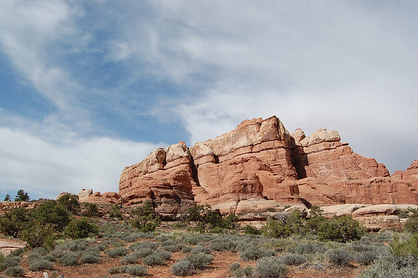 Journal Site 95:  Canyonlands National Park, Chesler Park Trail/Joint Trail - May 6, 2008