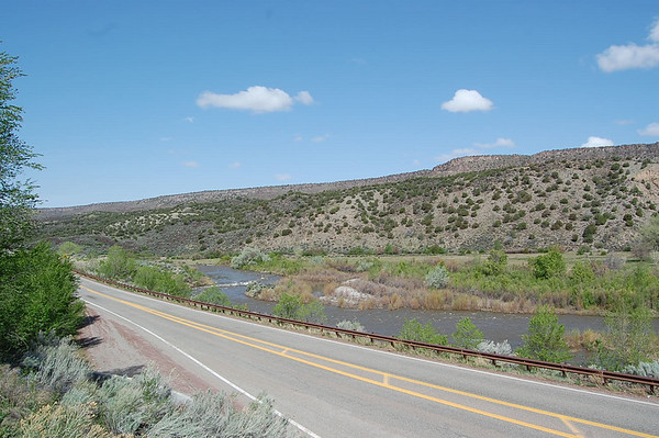Journal Site 97:  Rio Grande Gorge, Taos, NM - May 14, 2008