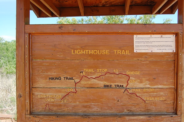Journal Site 99:  Lighthouse Trail, Palo Duro Canyon State Park, Canyon, TX - May 21, 2008