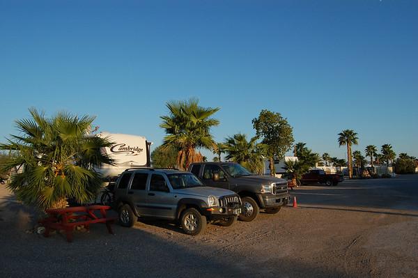 Journal Site 129:  Holiday Palms RV Park, Quartzsite, AZ - September 26 - 30, 2009