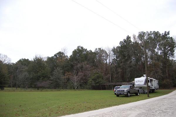 Journl Site 146: Ichetucknee Springs Campground, Fort White, FL - Dec 17 - 21, 2009