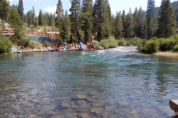 Journal Site 125:  River Ranch Lodge, Truckee, CA - July 30, 2009