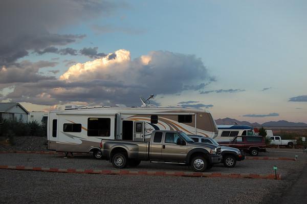 Journal Site 130:  SKP Saguaro RV Park, Benson, AZ - Sept 30, 2009