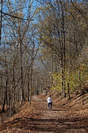 Journal Site 163: North Bend Rail Trail, Cairo-Ellenton, WV - Oct. 28, 2010