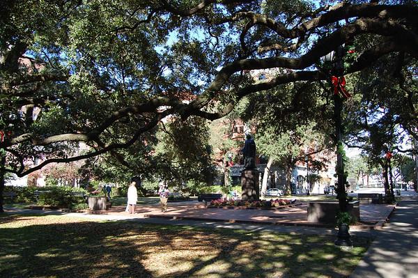 Journal Site 170: Savannah Civil War Walking Tour, Savannah, GA - Dec 7, 2010