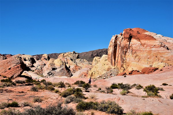 Valley of Fire - Pastel Canyon Fire Wave Loop Hike