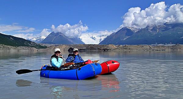 Kennicott Glacier Paddling