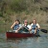 Howard guiding on Rio Grande Canoe trip