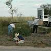 Refuge visitors volunteer to help remove exotic vegetation