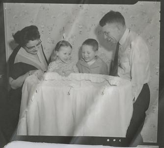 Mark Taif Howard January 1957 - Eileen, Christy, Bill, George