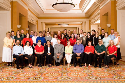 All Wipfli staff and trainers at a Las Vegas annual conference in July of 2007.