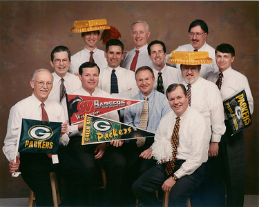 Partner Packer fans at Williams, Young & Associates.  Mid 1990s.