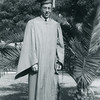 Howard graduates from Alhambra High School, January 1943.