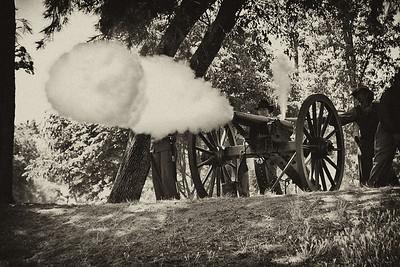 BW-Cannon Shot
