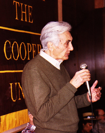 03.03.14-16 Howard Zinn at The Cooper Union in New York City