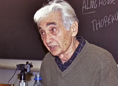 03.12.04 Howard Zinn at Harvard University in Cambridge, MA