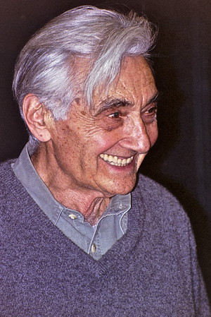 04.02.16 Howard Zinn at Marlboro College in Brattleboro, Vermont