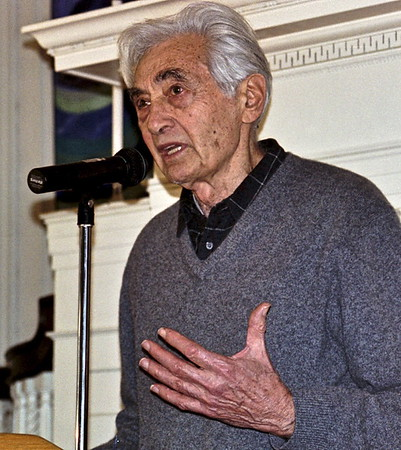 05.01.29 Howard Zinn - Patti Smith - Ralph Nader in Cambridge, MA