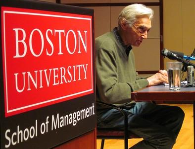 09.11.11 Howard Zinn at Boston University