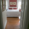 The Howarth House Bed and Breakfast in Fitchburg turned 10 Oct, 1, 2019 and on Friday, Oct. 18, 2019 Brian And Linda Belliveau sat down to talk about their business. A view from the hallway into one of the B & B. SENTINEL & ENTERPRISE/JOHN LOVE