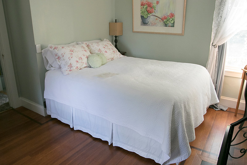 The Howarth House Bed and Breakfast in Fitchburg turned 10 Oct, 1, 2019 and on Friday, Oct. 18, 2019 Brian And Linda Belliveau sat down to talk about their business. One of the guest bedrooms at the B & B. SENTINEL & ENTERPRISE/JOHN LOVE