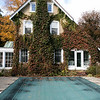 The Howarth House Bed and Breakfast in Fitchburg turned 10 Oct, 1, 2019 and on Friday, Oct. 18, 2019 Brian And Linda Belliveau sat down to talk about their business. A view of the side of the B & B with the inground pool. SENTINEL & ENTERPRISE/JOHN LOVE