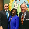 Howerton with Tillis and Burr in DC