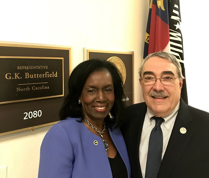 Howerton with Butterfield in DC