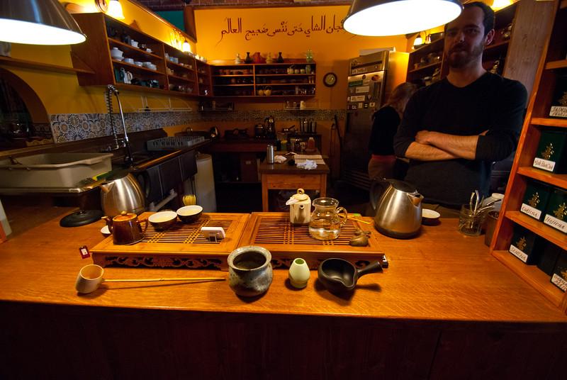 Dobra Tea Room in Asheville - One of our favorite tea shops